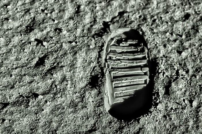 Buzz Aldrin Footstep