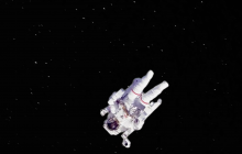 would happen to an astronaut if he loses connection to the shuttle