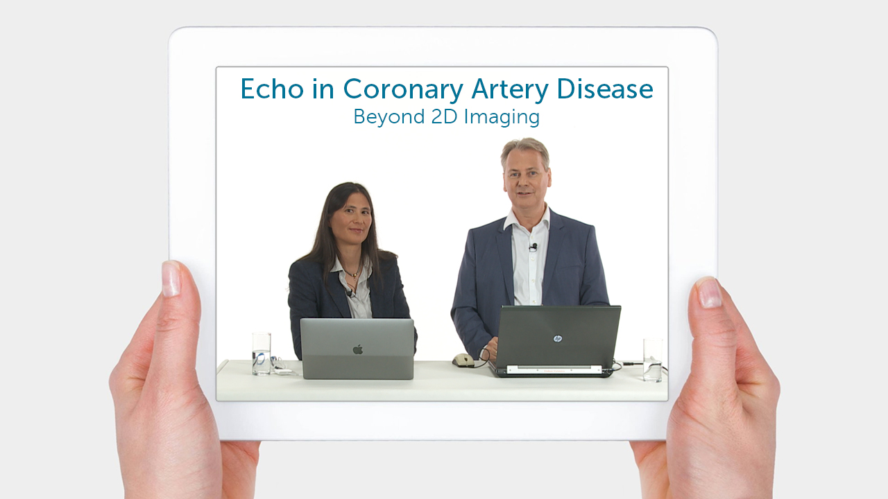 Echo in coronary artery disease – case examples