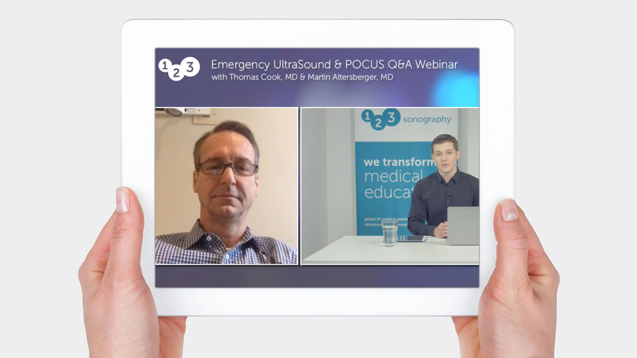 Question and Answer Webinar - Emergency Ultrasound + POCUS