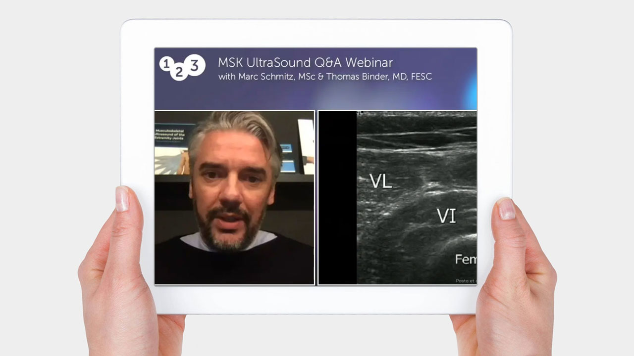 Question and Answer Webinar - MSK Ultrasound